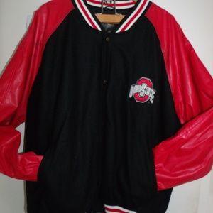 Ohio State Varsity Jacket Steve and Barry's XXL